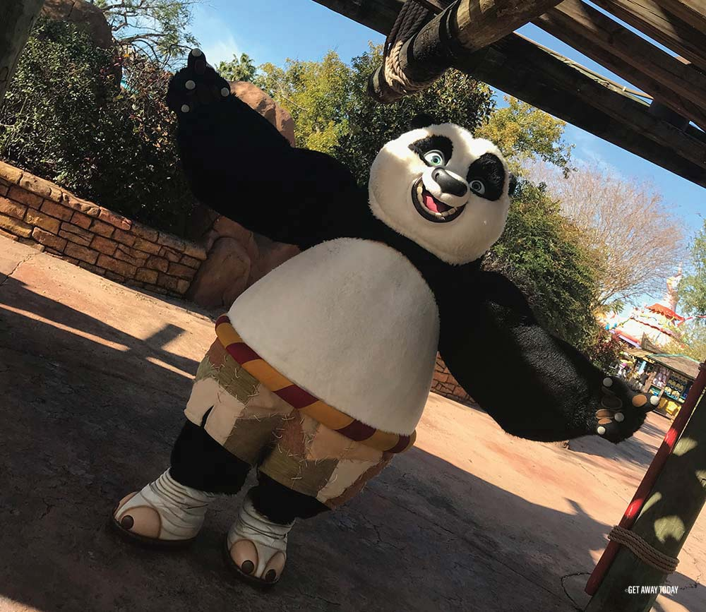 Changes at Universal Studios Hollywood Kung Fu Panda