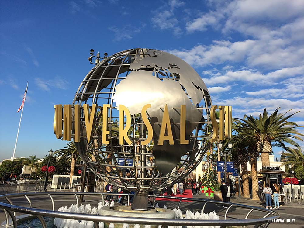 Changes at Universal Studios Hollywood Globe