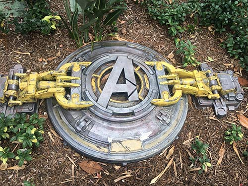 Disneyland Secrets Marvel Land