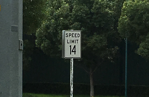 Disneyland Secrets Speed Limit