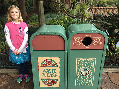 Things You Don't Know About Disneyland Trash Cans