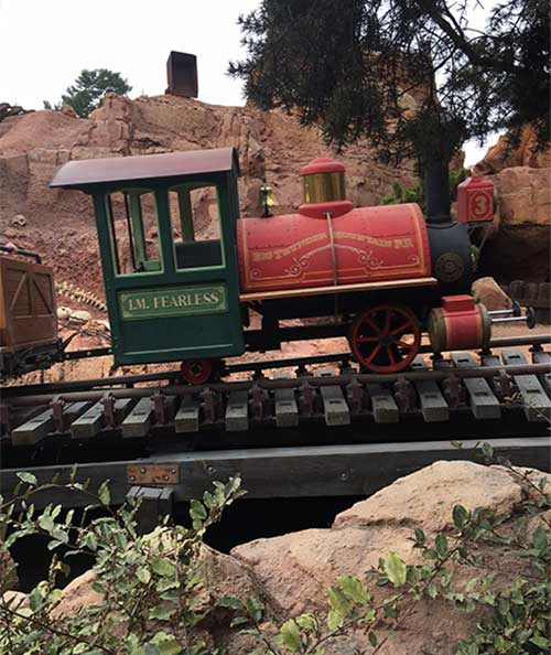 Big Thunder Mountain Railroad Secrets Fearless Train Car