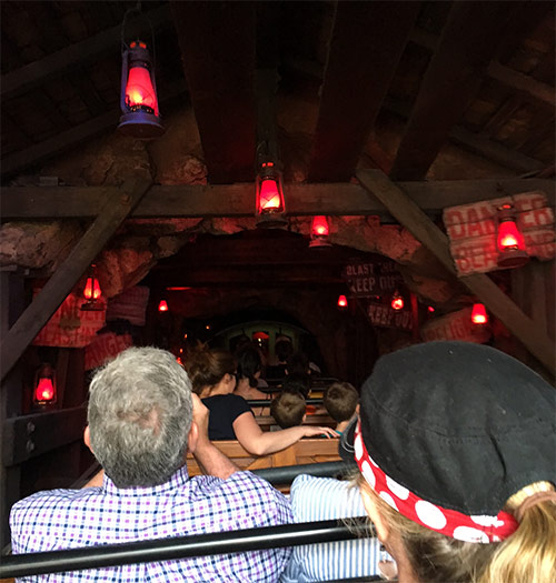 Big Thunder Mountain Railroad Secrets Red Hanging Lanterns