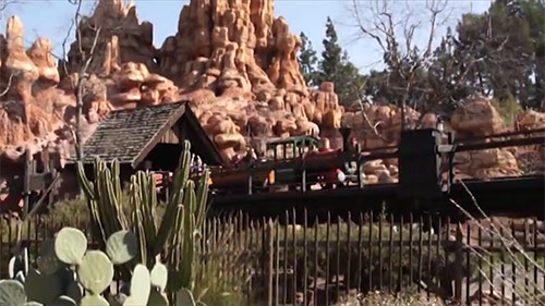 Big Thunder Mountain Railroad Hidden Mickey