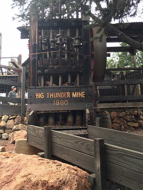 Big Thunder Mountain Railroad Secrets Mine