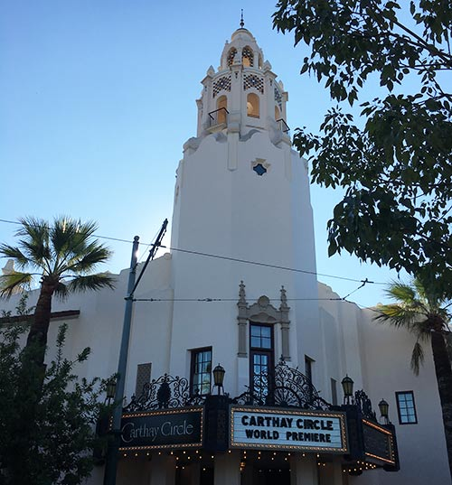 Buena Vista Street Disneyland Secrets Carthay Circle