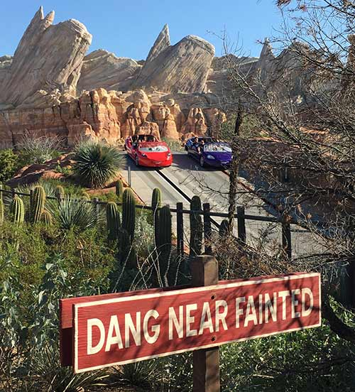Cars Land Secrets Radiator Springs Racers