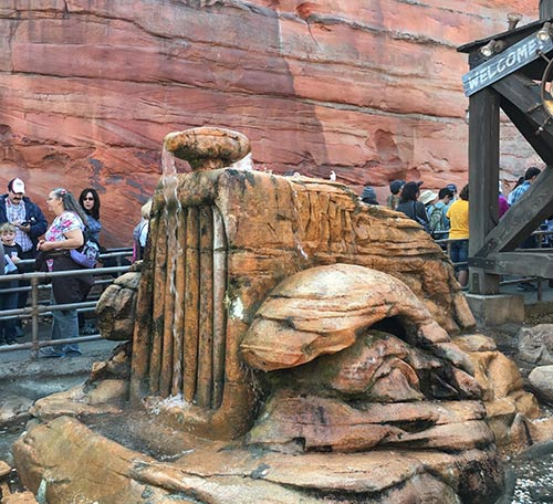 Cars Land Secrets Radiator Springs Racers Line