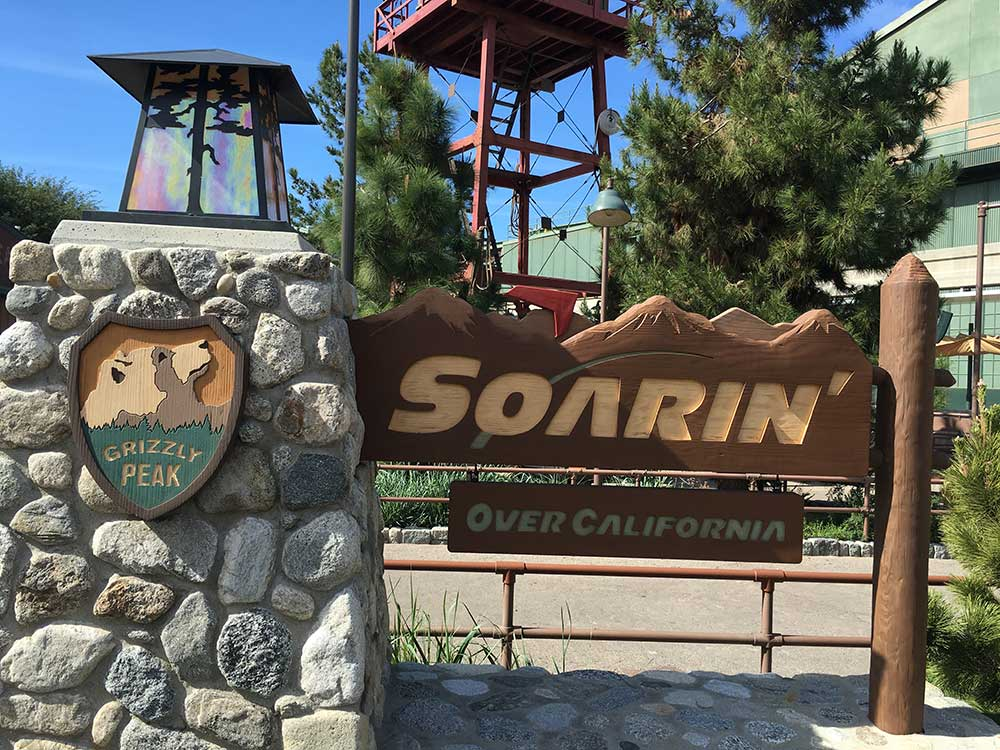 Facts About Soarin' Over the World - Sign