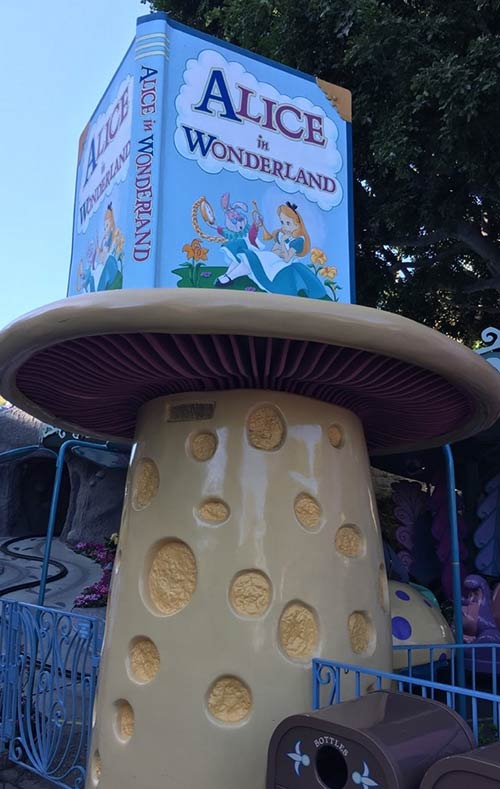 Fantasyland Rides at Disneyland Ticket Booth
