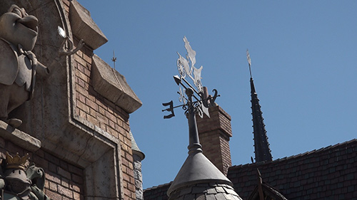 Fantasyland Rides at Disneyland Weather Vane