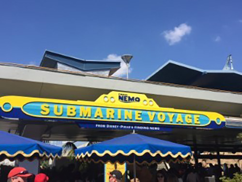 Disneyland Submarine Finding Nemo Submarine Voyage Sign
