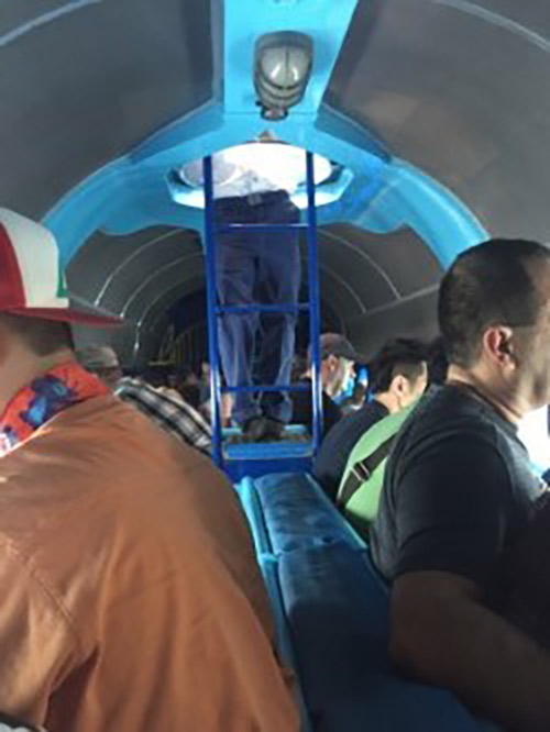 Disneyland Submarine On Ride