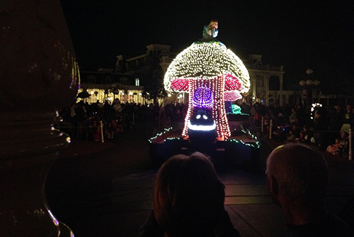 Main Street Electrical Parade Alice in Wonderland