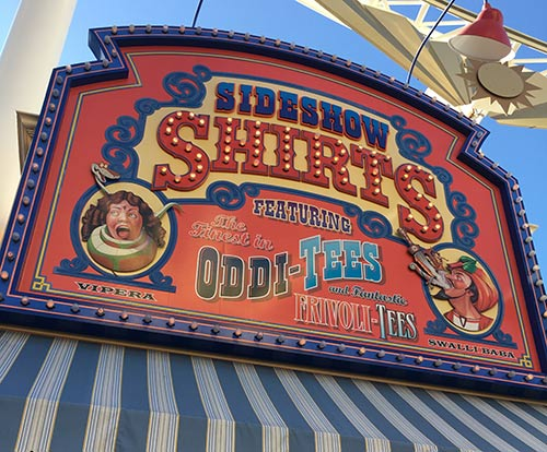 Paradise Pier in California Adventure Midway Rides and Attractions