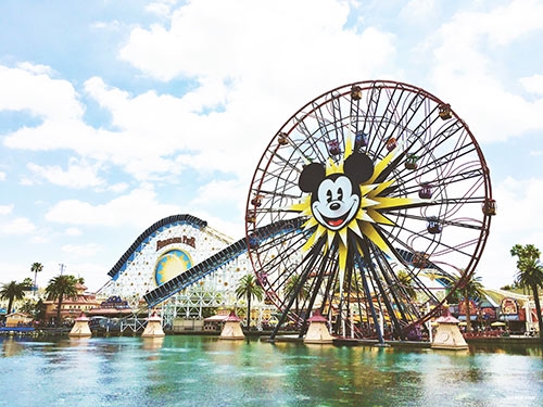 Paradise Pier in California Adventure