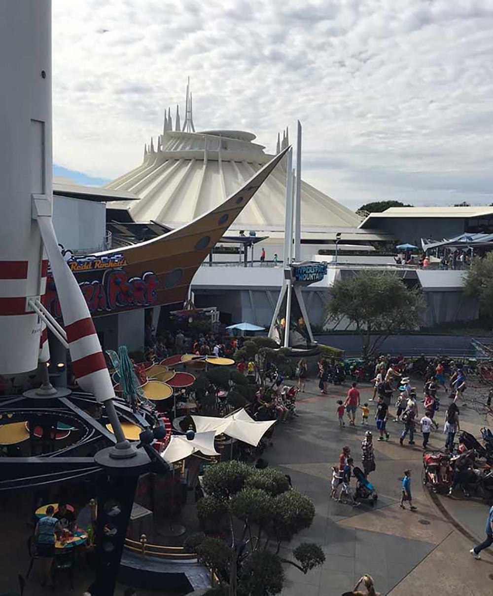 Space Mountain Building