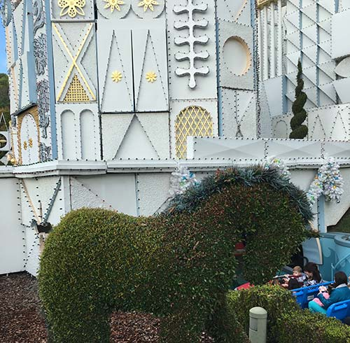 its a small world at Disneyland Sculptures