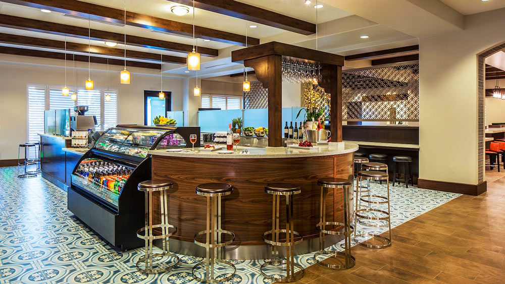 Courtyard Marriott Anaheim Theme Park Entrance Review Dining