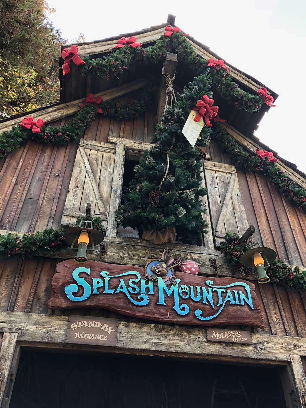 Critter Country Splash Mountain Holiday