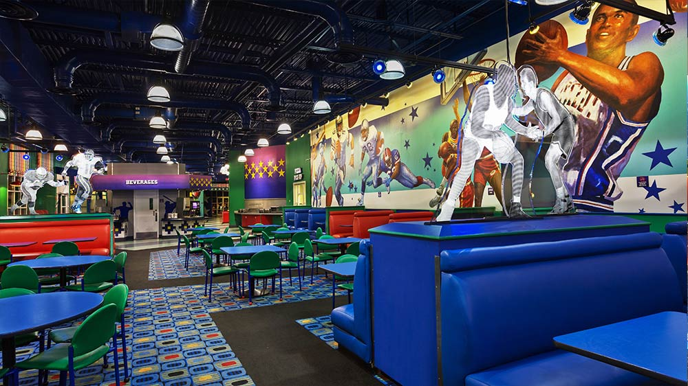 Disneys All Star Sports Resort Review Dining