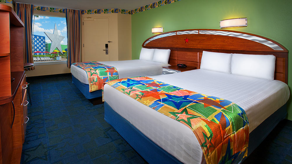 Disneys All Star Sports Resort Review Rooms