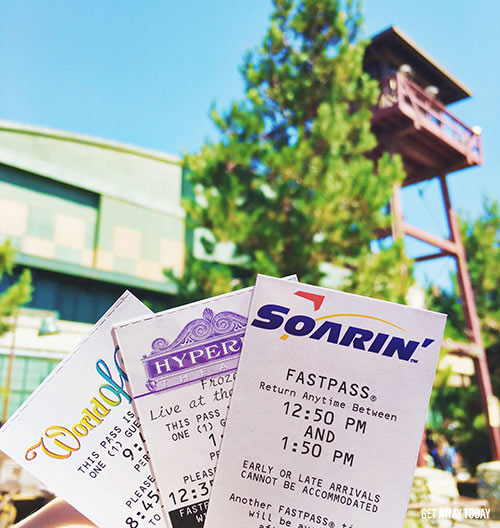 Disney Grad Night at Disneyland Fastpass