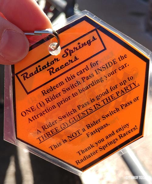 Disney Grad Night at Disneyland Rider Switch Pass
