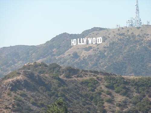 Disney Places That Aren't Disneyland Hollywood Sign
