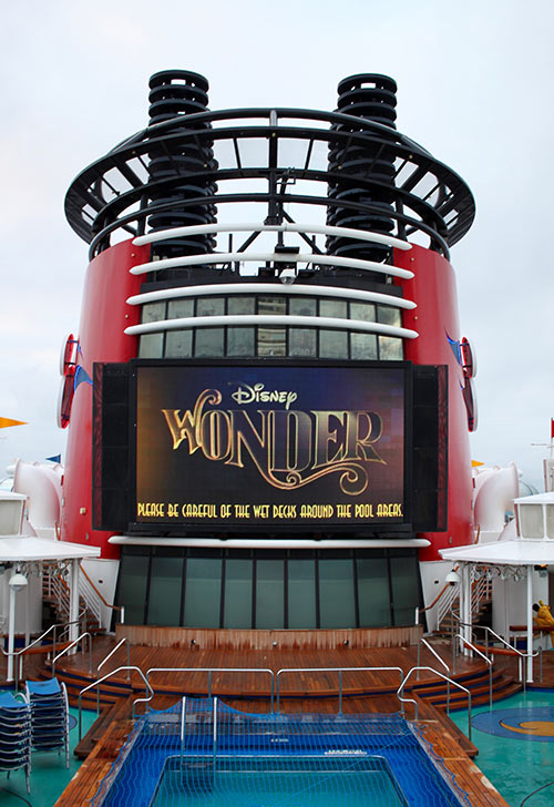 Disney Wonder Pool