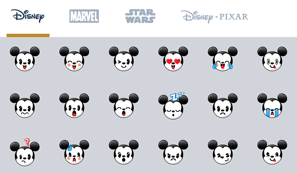 Disney Wonder Review Emojis