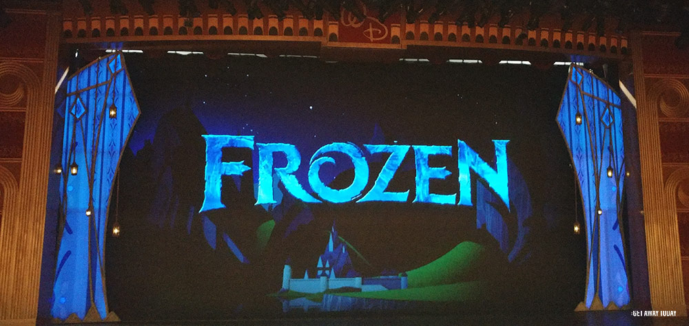 Disney Cruise Line Tips for Toddlers Frozen Show