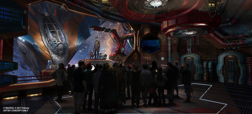 Disney World Changes Guardians of the Galaxy Attraction