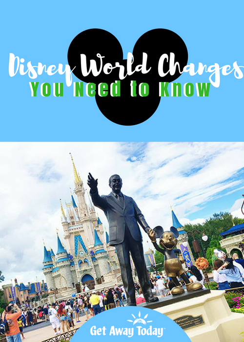 Disney World Changes Pin | Get Away Today