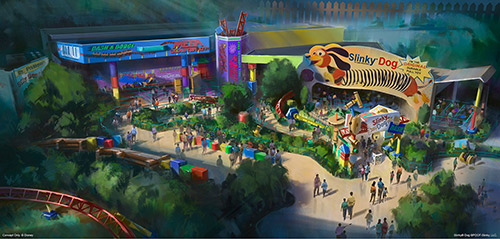 Disney World Changes Toy Story Land