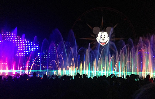 Disney World VS Disneyland Part Two World of Color