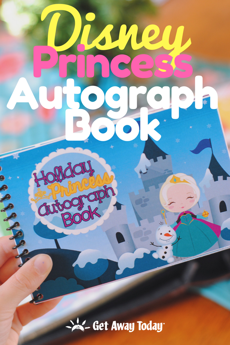 Free Printable Disney Princess Autograph Books || Get Away Today