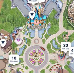 How to Use the Disneyland App Disneyland Map App on disney world map app, disneyland street map, six flags map app,
