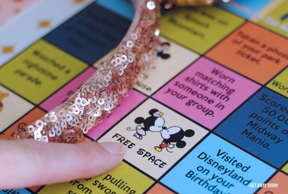 Disneyland Bingo Game Printable Free Space