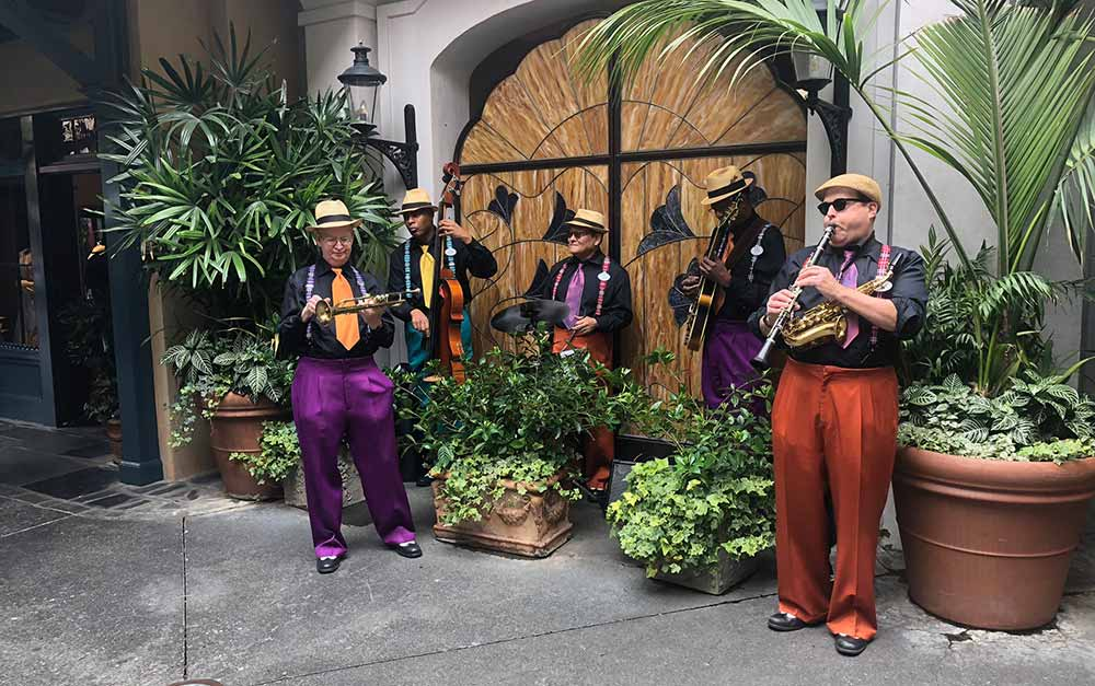 Disneyland Celebs Jazz Band