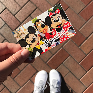 New Disneyland E-Tickets