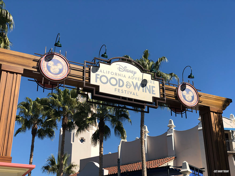 Disneyland Events Food and Wine Festival