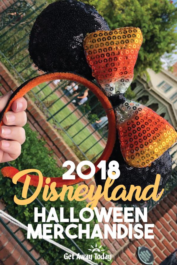 disneyland halloween merchandise 2018