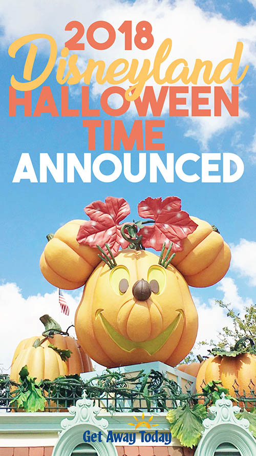Disneyland Halloween Party 2018 Dates and Details || Get Away Today
