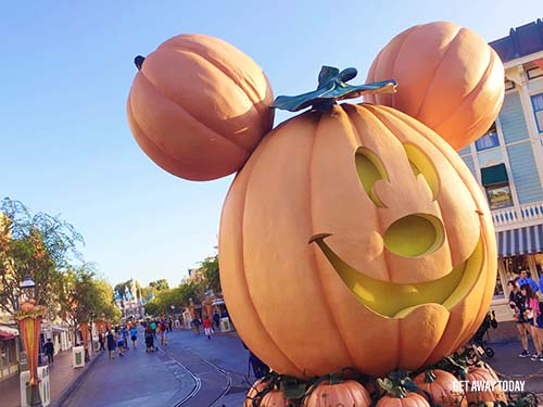 Disneyland Halloween Time 2018 Pumpkin