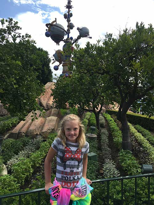 Disneyland Plants Tomorrowland