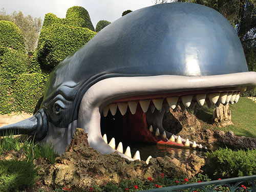 Disneyland Plants Story Book Whale