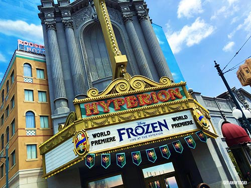 Thing to Do at Disneyland Disneyland This Summer 2017 Frozen Live at the Hyperion