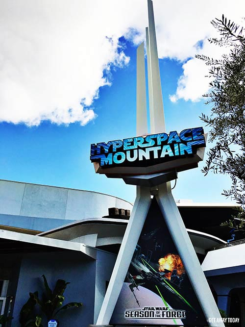 Thing to Do at Disneyland Disneyland This Summer 2017 Hyperspace Mountain
