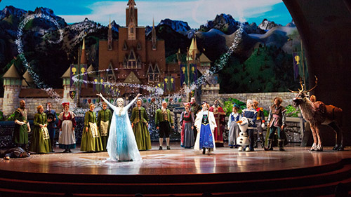 Frozen Live with Pre Show Packages at Disneyland